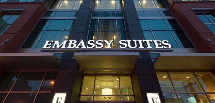 Embassy Suites Sign